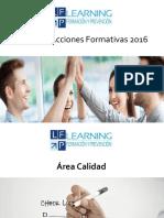 Catálogo  de formación bonificada Learningfyp