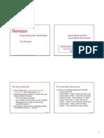 VB1 Revision - Programming With VB - Prac (0)