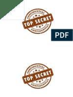 Dibujo Top Secret
