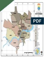 Peta Kota Palembang