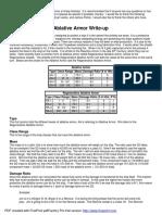 Ablative Armor or Bio-Armor_v5