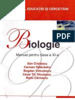 Manual Biologie clasa a 11-a Editura Corint