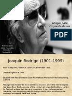 Rodrigo - Adagio for Wind Orchestra Presentation