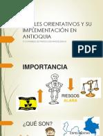 Niveles Orientativos y Su Implementacion en Antioquia