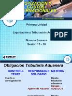 SEMANA  VII   LIQUIDACION  Y TRIBUTACION ADUANERA.pptx