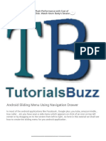 Tutorialsbuzz ,programming blog for android ,java,game and code_ Android Sliding Menu Using Navigation Drawer.pdf