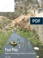 Report Jun09 ENG [Btselem -- Foul Play -- Neglect of Waste Water Treatment in the West Bank]