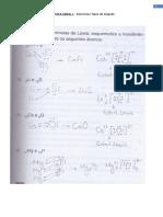 Exercícios Química - Tipos de Ligação