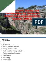 UMTS Optimization Example Dr. Hatem MOKHTARI