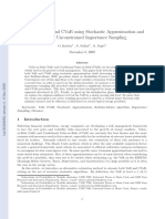 Computing VaR and CVaR using Stochastic Approximation and Adaptive Unconstrained Importance Sampling