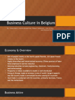belgium business culture