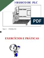 Apresentação Do Curso de PLC Exercícios