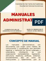 MANUALES ADMINISTRATIVOS(TEORÍA)