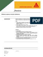 Adhesivo Epoxico Alta Resistencia Sikadur 31 90kg
