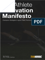 The Athlete Motivation Manifesto