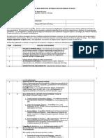 Matriz Para Elaborar Reglamentos de Salud y Seguridad