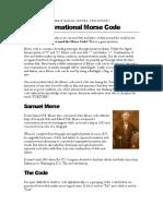 BSP Morsecode