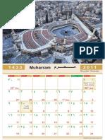 [Www.indowebster.com]-Makkah Islamic Calendar Hijri Calendar 2012 1433-1