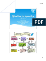 twitter for professional development