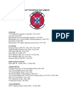 333rd Fighter Squadron Overview