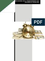 Análisis de Indicadores en El Financiamiento Del Desarrollo Municipal (Autoguardado)