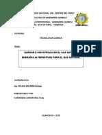 Informe 3 de Tecnologia Quimica