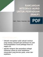 Rancangan Integrasi Murid Untuk Perpaduan (RIMUP)