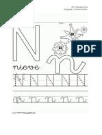 guia letra N 2