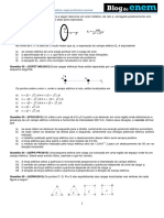 Física – Eletrostática – Campo Elétrico, Cargas Puntiformes e Pontuais.