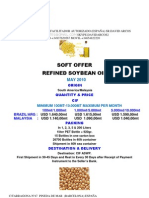 Soft Offer Soybean Oil-may10