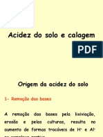Acidez e Calagem Do Solo