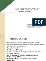 equityanalysisonindianitsector-140122155658-phpapp01