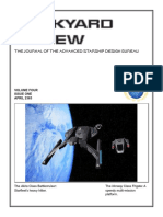 Dockyard Review,The Journal of the Advanced Starship Desing Bureau,Volume 4, Issue 1-April 2363