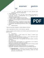 Resumen Examen Gestión Empresarial