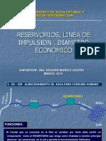 252136604 2 Reservorios Linea de Impulsion Diametro Economico
