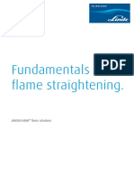 Flame Straightening