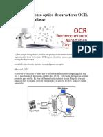Reconocimiento Óptico de Caracteres OCR