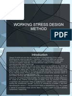 Working Stress Design Method 1