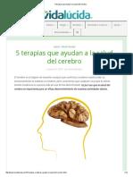 Terapias Que Ayudan a La Salud Del Cerebro