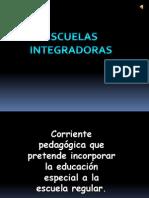 PRESENTACION ESCUELAS INTEGRADORAS