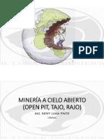 1-Minería a Cielo Abierto Concepto General