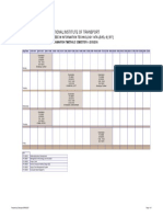 SARIS Timetable