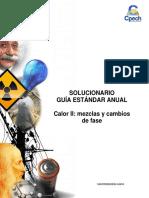 Solucionario CB32 Guía Práctica Calor II Mezclas y Cambios de Fase 2016