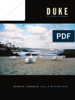 Duke University Press Fall 2010 Catalog