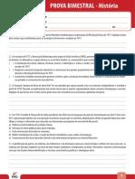 Ensino Fundamental Provas Bimestrais 2014 9o Ano Prova Bimestral 2 Caderno 2 Historia