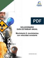 Solucionario CB32 Guía Práctica Movimiento II 2016