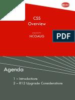 CSS Presentation Chicago OAUG022610
