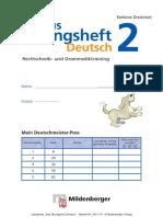 2401-70 Leseprobe Das Uebungsheft Deutsch 2