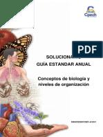 2016 Solucionario Conceptos de Biología y Niveles de Organización