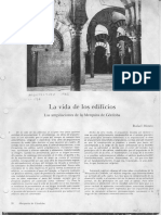 """Rafael Moneo, """"La Vida de Los Edificios. Las Ampliaciones de La Mezquita de Córdoba"""